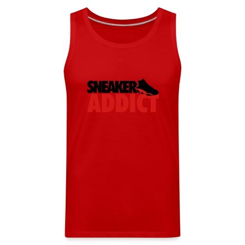 Sneaker Addict-TShirt - Men's Premium Tank