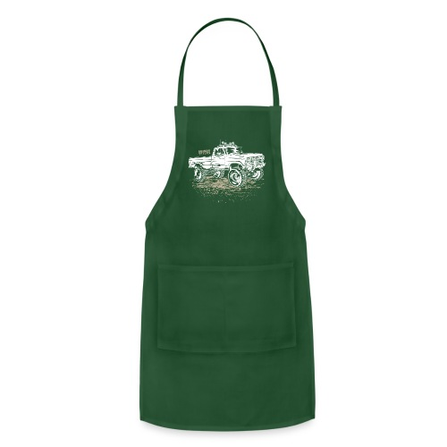 Dirty Ford Truck - Adjustable Apron