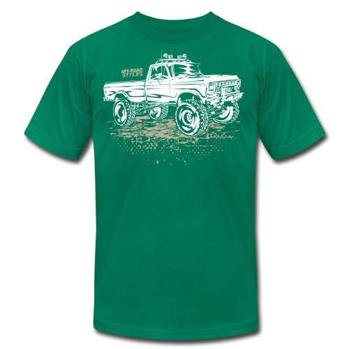 Dirty Ford Truck - Men's Fine Jersey T-Shirt