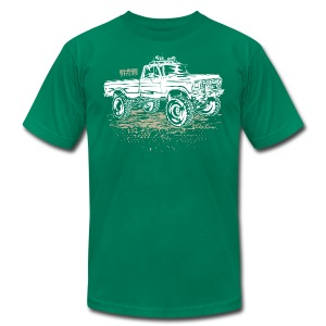 Dirty Ford Truck - Men's Fine Jersey T-Shirt