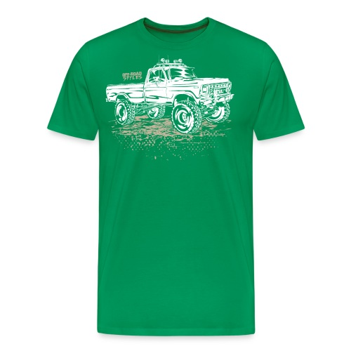 Dirty Ford Truck - Men's Premium T-Shirt
