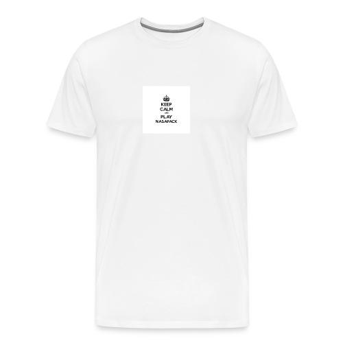 NasaPack Button [Small] - Men's Premium T-Shirt