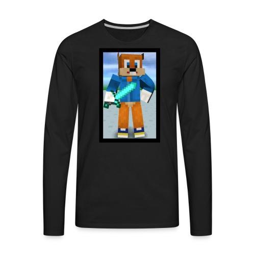 SQUIRRELxTASTIC Men T-Shirt - Men's Premium Long Sleeve T-Shirt