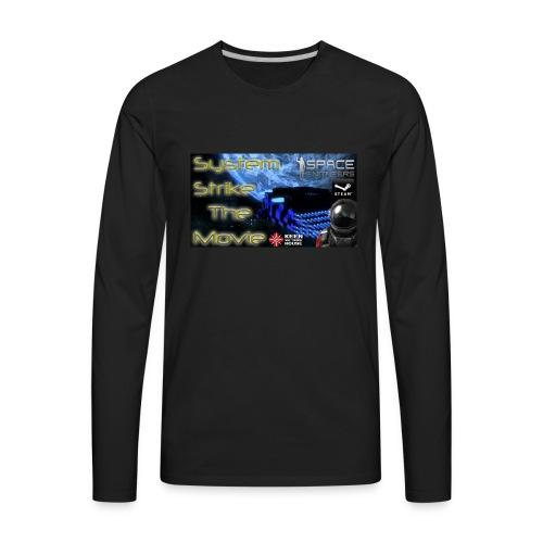 System Strike Thumbail Logo T-shirt - Men's Premium Long Sleeve T-Shirt