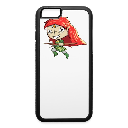 Bowgirl Women's T-Shirt - iPhone 6/6s Rubber Case