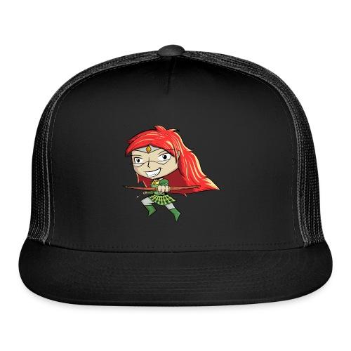 Bowgirl Women's T-Shirt - Trucker Cap