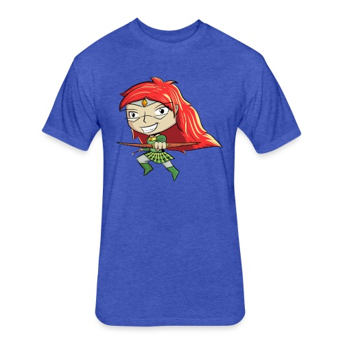 Bowgirl Women's T-Shirt - Fitted Cotton/Poly T-Shirt by Next Level