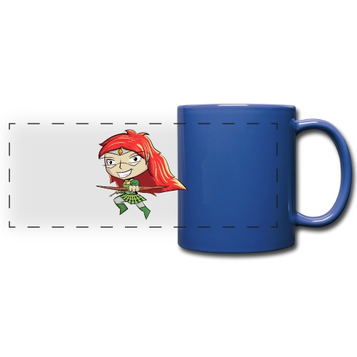 Bowgirl Women's T-Shirt - Full Color Panoramic Mug