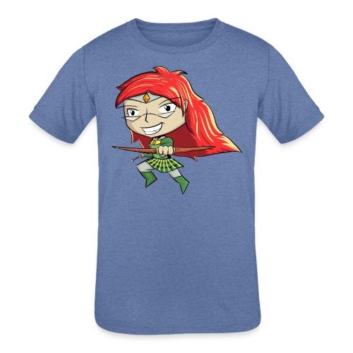 Bowgirl Women's T-Shirt - Kids' Tri-Blend T-Shirt