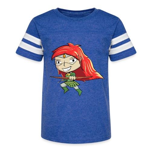 Bowgirl Women's T-Shirt - Kid's Vintage Sport T-Shirt