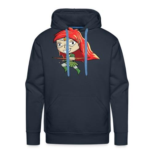 Bowgirl Women's T-Shirt - Men's Premium Hoodie