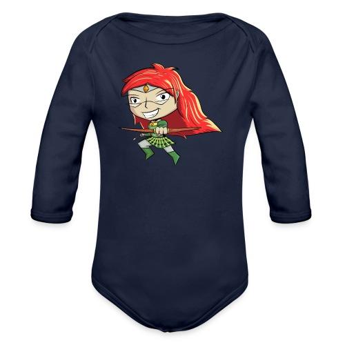 Bowgirl Women's T-Shirt - Organic Long Sleeve Baby Bodysuit