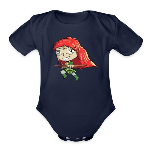 Bowgirl Women's T-Shirt - Organic Short Sleeve Baby Bodysuit