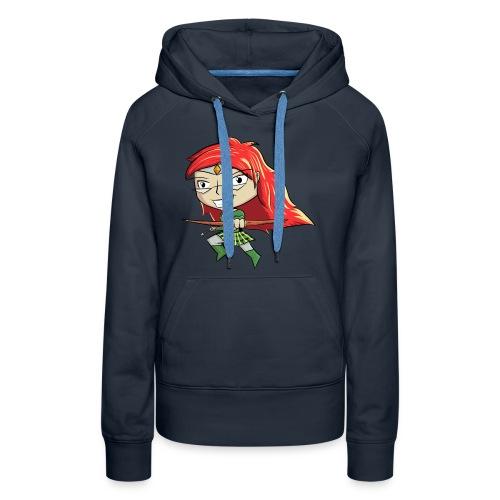 Bowgirl Women's T-Shirt - Women's Premium Hoodie