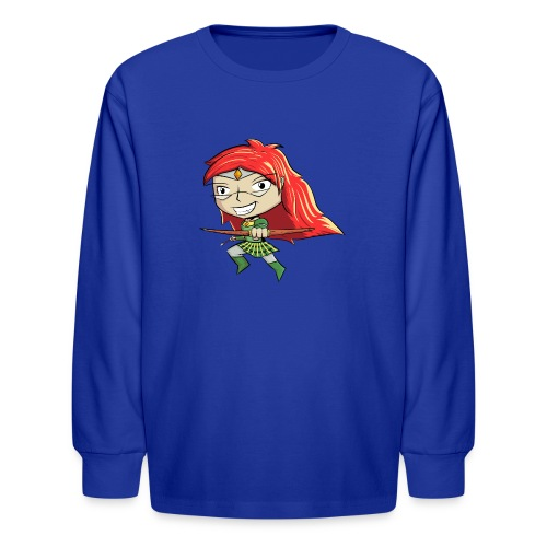 Bowgirl Women's T-Shirt - Kids' Long Sleeve T-Shirt