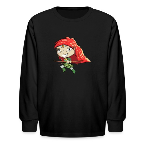 Bowgirl Women's T-Shirt - Kids' Long Sleeve T-Shirt