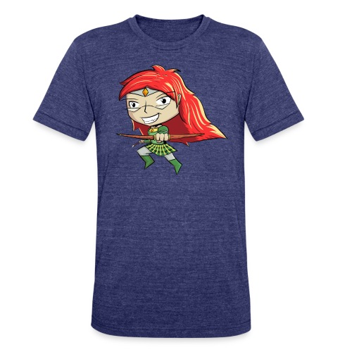 Bowgirl Women's T-Shirt - Unisex Tri-Blend T-Shirt