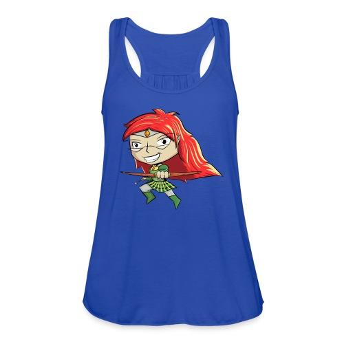 Bowgirl Women's T-Shirt - Women's Flowy Tank Top by Bella