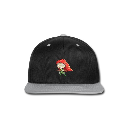 Bowgirl Women's T-Shirt - Snap-back Baseball Cap