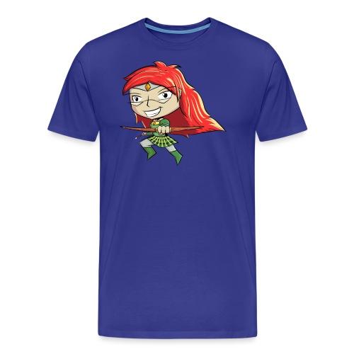 Bowgirl Women's T-Shirt - Men's Premium T-Shirt