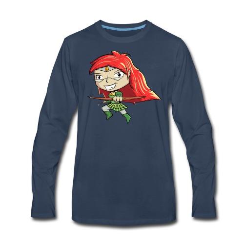 Bowgirl Women's T-Shirt - Men's Premium Long Sleeve T-Shirt