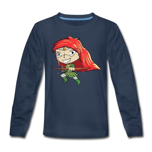 Bowgirl Women's T-Shirt - Kids' Premium Long Sleeve T-Shirt