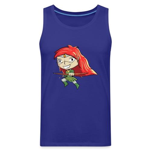 Bowgirl Women's T-Shirt - Men's Premium Tank