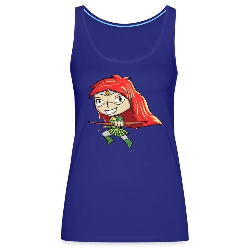 Bowgirl Women's T-Shirt - Women's Premium Tank Top