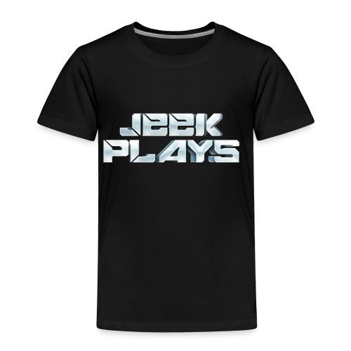 Jeek Plays Shirt - Kids - Toddler Premium T-Shirt