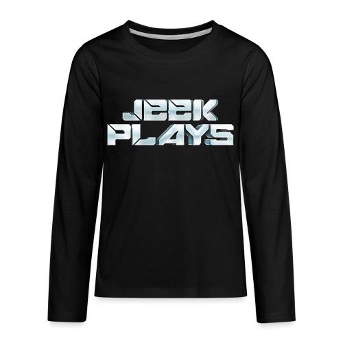 Jeek Plays Shirt - Kids - Kids' Premium Long Sleeve T-Shirt