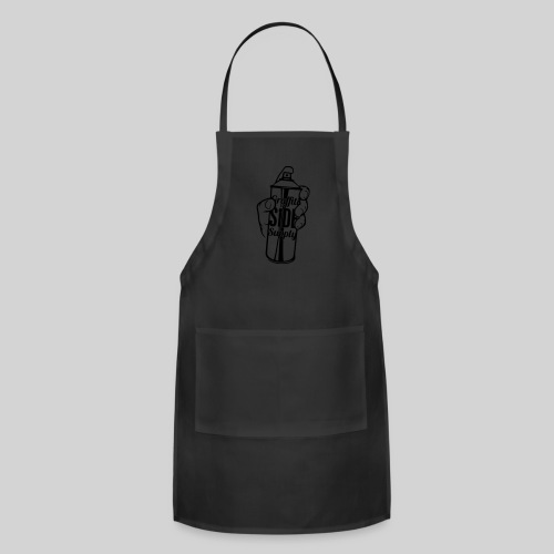 Men's Spray Can WHITE - Adjustable Apron