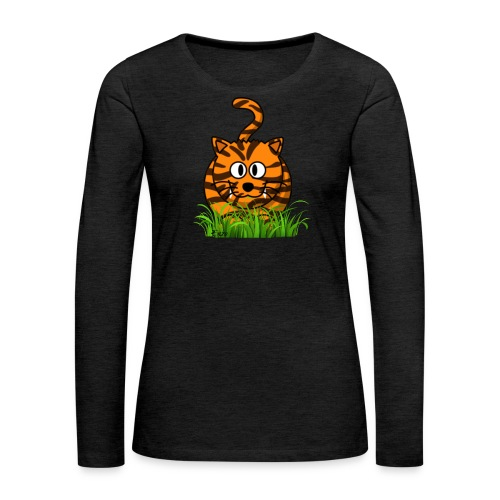 Tiger named Enzo - Women's Premium Long Sleeve T-Shirt
