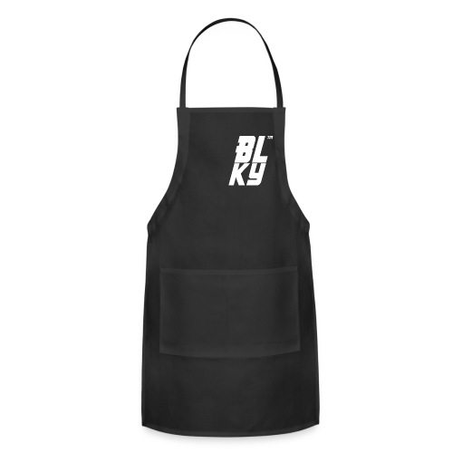 Blucky Chest Logo Womens [Black] - Adjustable Apron