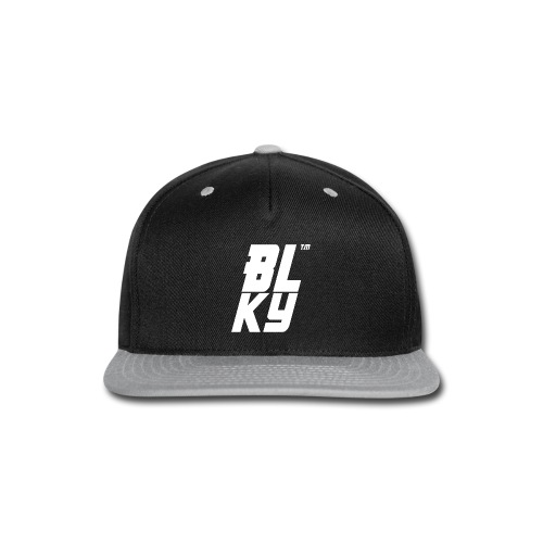 Blucky Chest Logo Womens [Black] - Snap-back Baseball Cap