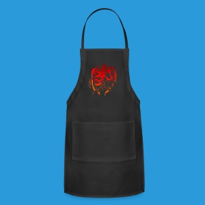 Women's Cool designed T-shirt - Adjustable Apron