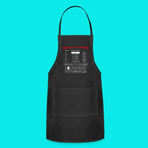 Retro High Score - Adjustable Apron