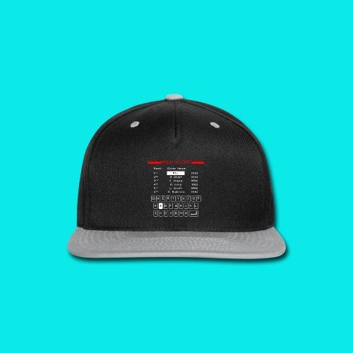 Retro High Score - Snap-back Baseball Cap