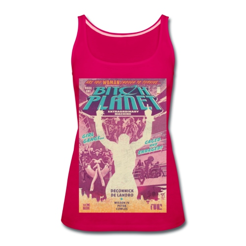 Planet Bitch 2 shirt - Women's Premium Tank Top