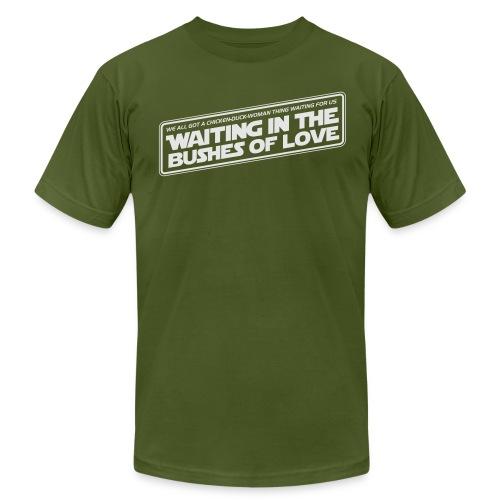 Bushes Of Love - Brown - Men's Fine Jersey T-Shirt
