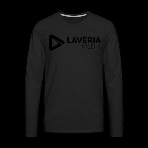 Laveria Media Premium T-Shirt - Men's Premium Long Sleeve T-Shirt