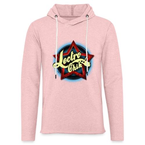 Women's Pink T-Shirt - Unisex Lightweight Terry Hoodie
