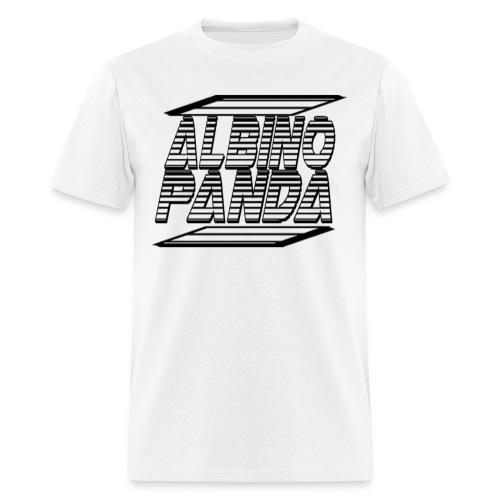 Albino Panda Logo Long Sleeve Tee (White) - Men's T-Shirt