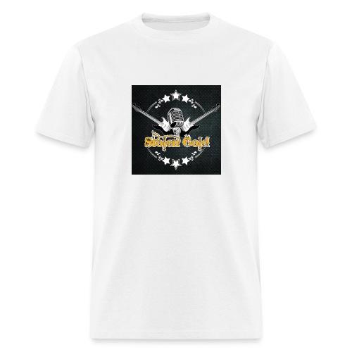 Men's t-shirt: SG logo on metal - Men's T-Shirt
