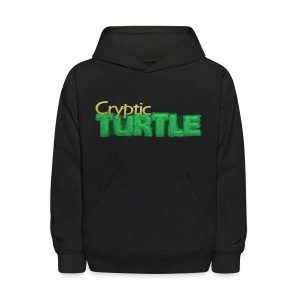 Cryptic Turtle Shirt - Kids - Kids' Hoodie