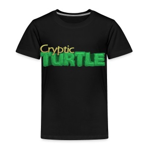 Cryptic Turtle Shirt - Kids - Toddler Premium T-Shirt