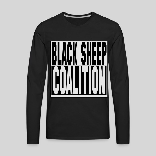 ICON STRETCH - Men's Premium Long Sleeve T-Shirt