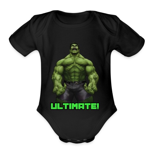Kids Ultimate T-Shirt - Organic Short Sleeve Baby Bodysuit