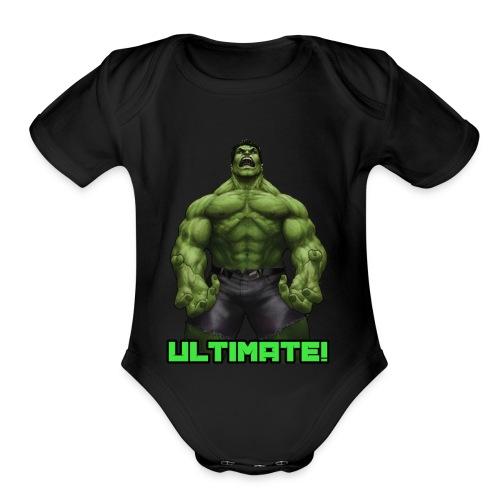 Kids Ultimate T-Shirt - Organic Short Sleeve Baby Bodysuit