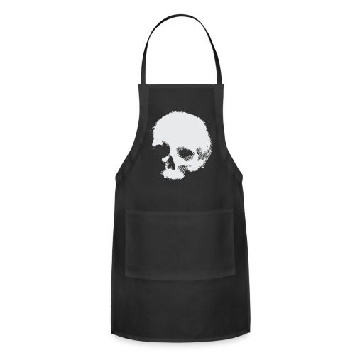 Screaming skull plain - Adjustable Apron