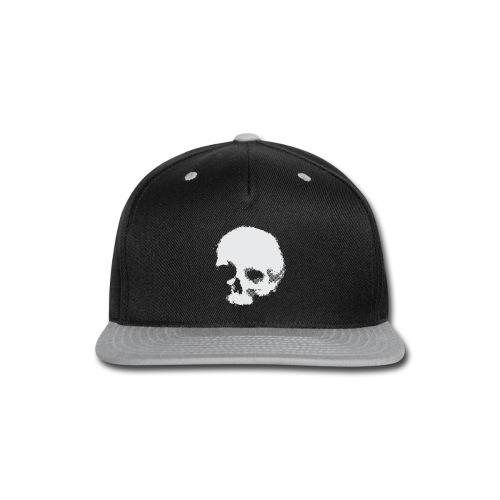 Screaming skull plain - Snap-back Baseball Cap